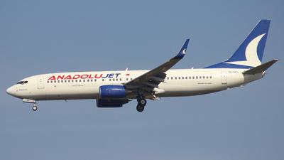 TC-SAU - Boeing 737-8GJ - AnadoluJet