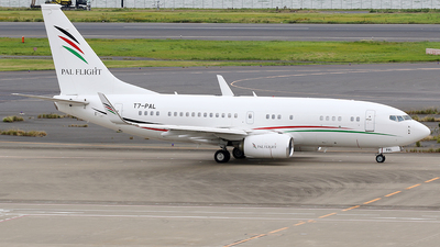 A picture of T7PAL - Boeing 7377GJ(BBJ) -  - © *DaVe*