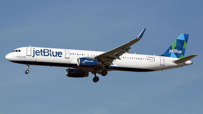 N982JB - Airbus A321-231 - jetBlue Airways