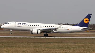 A picture of DAECE - Embraer E190LR - Lufthansa - © ms spot