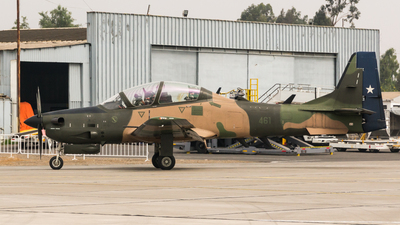 461 - Embraer A-29 Super Tucano - Chile - Air Force