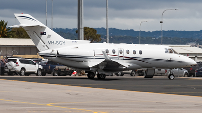 A picture of VHSGY - Hawker 850XP - [258780] - © Andrew Lesty