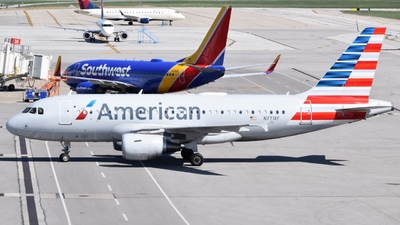 N771XF - Airbus A319-112 - American Airlines