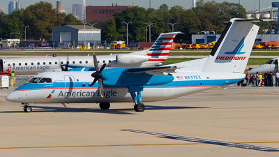 N837EX - Bombardier Dash 8-102 - American Eagle (Piedmont Airlines)