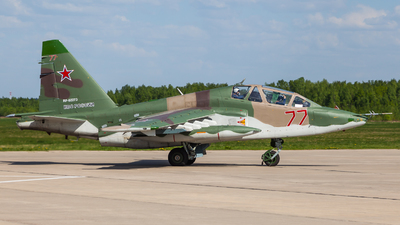 RF-92273 - Sukhoi Su-25UB Frogfoot - Russia - Air Force