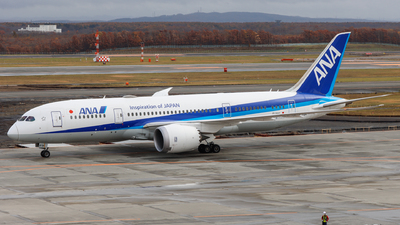 JA878A - Boeing 787-8 Dreamliner - All Nippon Airways (Air Japan)
