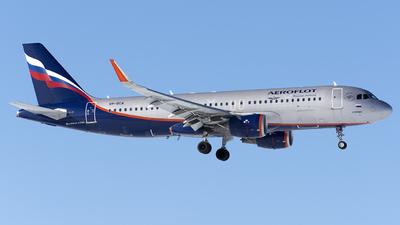 A picture of VPBCA - Airbus A320214 - Aeroflot - © SN7756