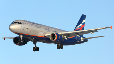 A picture of VQBKU - Airbus A320214 - Aeroflot - © FlyPete