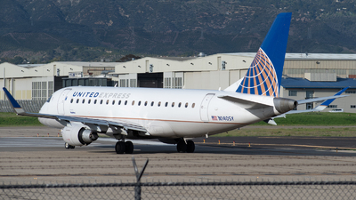 A picture of N140SY - Embraer E175LR - United Airlines - © Beck Ramsey