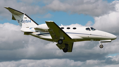 F-GISH - Cessna 510 Citation Mustang - Wijet