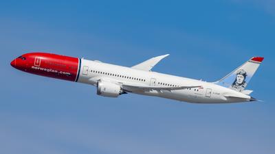 A picture of GCKWF - Boeing 7879 Dreamliner - Norwegian - © Ryan Schmelzer
