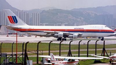 N155UA - Boeing 747-123 - United Airlines