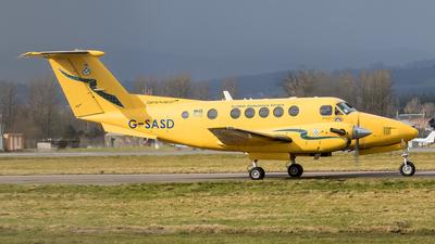A picture of GSASD - Beech B200C Super King Air - Gama Aviation (UK) - © Rolf Jonsen