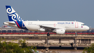 XU-797 - Airbus A319-111 - Cambodia Airways