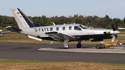 D-FAYX - Socata TBM-850 - Private