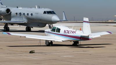 N74795 - Mooney M20 - Private