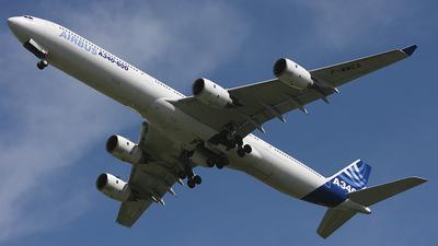 F-WWCA - Airbus A340-642 - Airbus Industrie