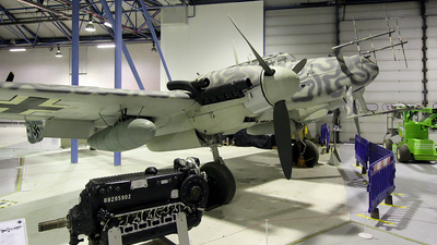 D5-RL - Messerschmitt Bf 110G-4 - Germany - Air Force