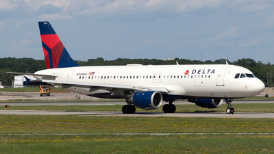 N349NW - Airbus A320-212 - Delta Air Lines