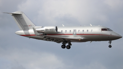 9H-VFF - Bombardier CL-600-2B16 Challenger 605 - VistaJet