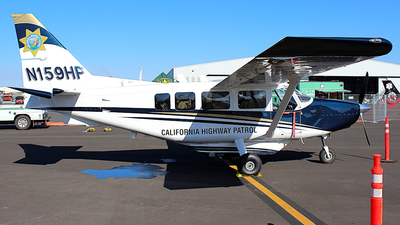N159HP - GippsAero GA8-TC320 - United States - California Highway Patrol (CHP)