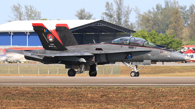 M45-01 - McDonnell Douglas F/A-18D Hornet - Malaysia - Air Force