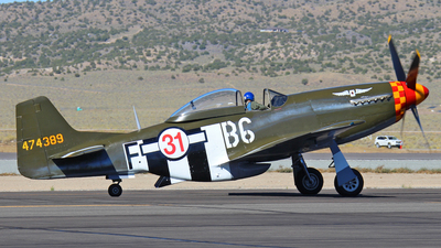 N64824 - North American P-51D Mustang - Private