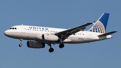 N852UA - Airbus A319-131 - United Airlines