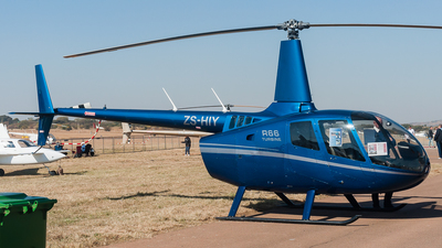 ZS-HIY - Robinson R66 Turbine - Private