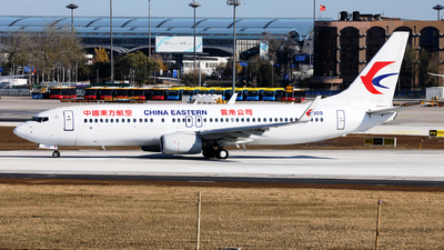 A picture of B1309 - Boeing 73789P - China Eastern Airlines - © Liu Yonggang