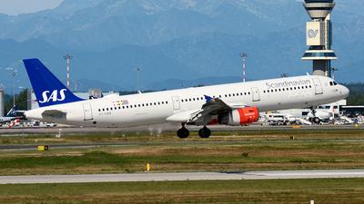 A picture of OYKBB - Airbus A321231 - SAS - © Sergio Canobbio