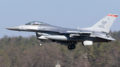 90-0813 - General Dynamics F-16C Fighting Falcon - United States - US Air Force (USAF)