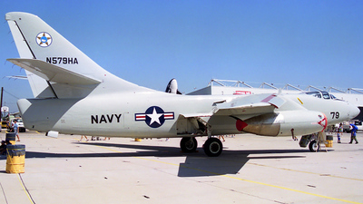 N579HA - Douglas TA-3B Skywarrior - Private