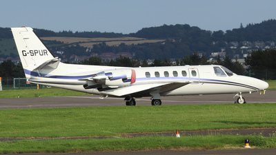G-SPUR - Cessna 550 Citation II - London Executive Aviation