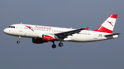 OE-LXC - Airbus A320-216 - Austrian Airlines