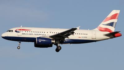 A picture of GEUPK - Airbus A319131 - British Airways - © subing27