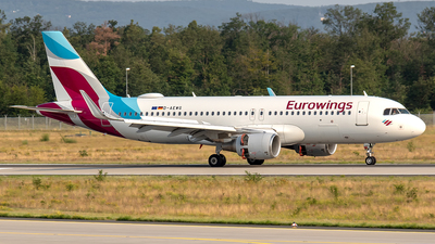 A picture of DAEWG - Airbus A320214 - Eurowings - © Sotos