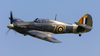 G-BKTH - Hawker Sea Hurricane Mk.IB - Private