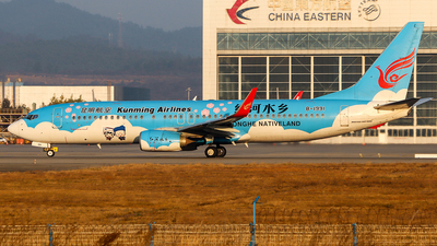 A picture of B1991 - Boeing 73787L - Kunming Airlines - © ChengFJ