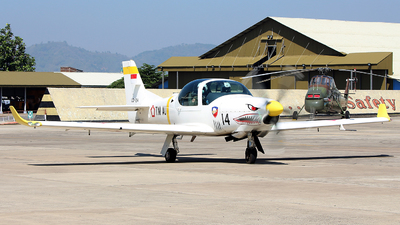 LD-1214 - Grob G120TP - Indonesia - Air Force