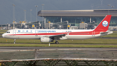 A picture of B6590 - Airbus A321231 - Sichuan Airlines - © Eric Wang