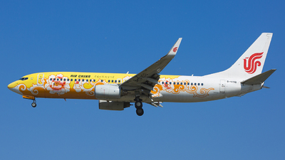 B-5198 - Boeing 737-89L - Air China