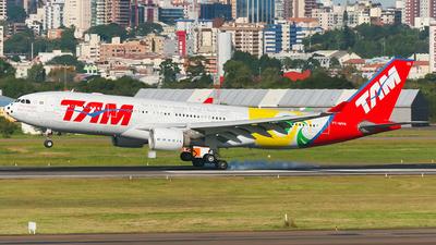 PT-MVN - Airbus A330-223 - TAM Linhas Aéreas