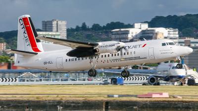 OO-VLL - Fokker 50 - CityJet