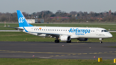 A picture of ECLKM - Embraer E195LR - Air Europa - © Tjorve. Henzler