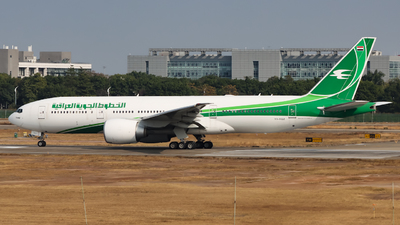YI-AQZ - Boeing 777-29MLR - Iraqi Airways