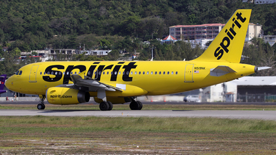 N519NK - Airbus A319-132 - Spirit Airlines