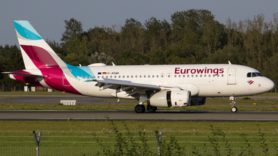 D-AGWK - Airbus A319-132 - Eurowings (Germanwings)
