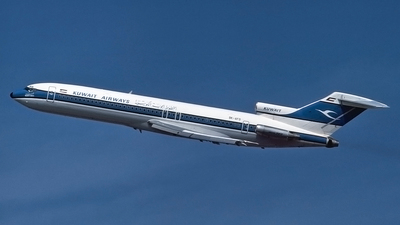 9K-AFD - Boeing 727-269(Adv) - Kuwait Airways