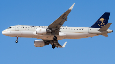A picture of HZAS66 - Airbus A320214 - Saudia - © AirlinerSpotter
